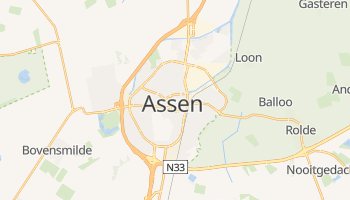 Mapa online de Assen para viajantes
