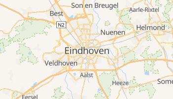 Mapa online de Eindhoven para viajantes