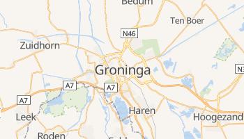 Mapa online de Groninga para viajantes