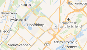Mapa online de Hoofddorp para viajantes