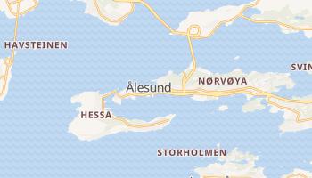 Mapa online de Ålesund para viajantes