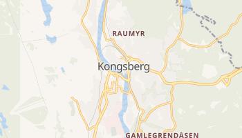 Mapa online de Kongsberg para viajantes