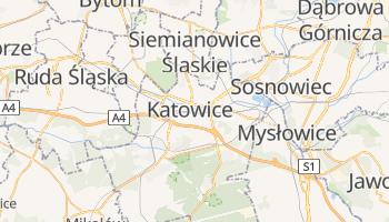 Mapa online de Katowice para viajantes