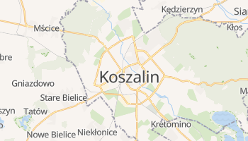 Mapa online de Koszalin para viajantes