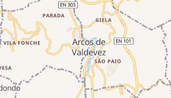 Mapa online de Arcos de Valdevez para viajantes
