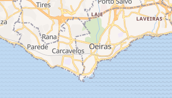 Mapa online de Carcavelos para viajantes