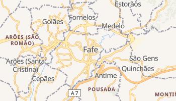 Mapa online de Fafe para viajantes