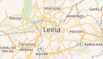 Mapa online de Leiria para viajantes