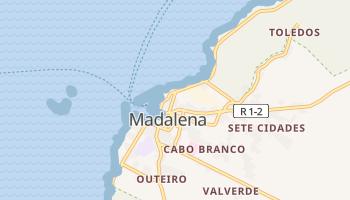 Mapa online de Madalena para viajantes