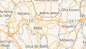 Mapa online de Maia para viajantes