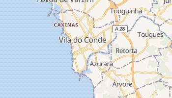 Mapa online de Vila do Conde para viajantes