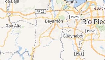 Mapa online de Bayamón para viajantes
