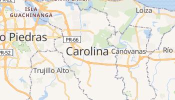 Mapa online de Carolina para viajantes