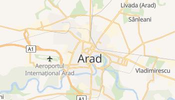 Mapa online de Arad para viajantes