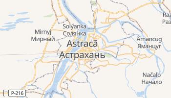 Mapa online de Astracã para viajantes