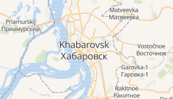 Mapa online de Khabarovsk para viajantes