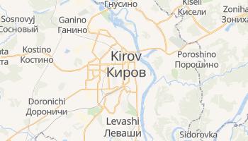 Mapa online de Kirov para viajantes