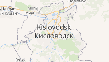Mapa online de Kislovodsk para viajantes