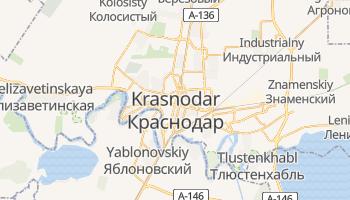 Mapa online de Krasnodar para viajantes