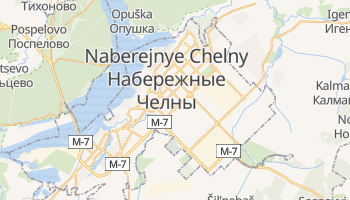 Mapa online de Naberejnye Chelny para viajantes