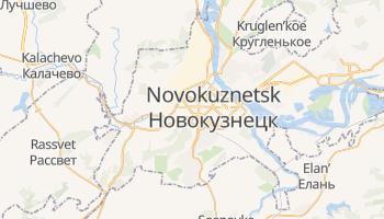 Mapa online de Novokuznetsk para viajantes