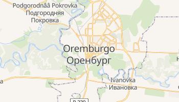 Mapa online de Oremburgo para viajantes