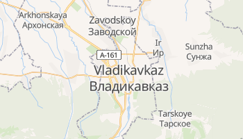 Mapa online de Vladikavkaz para viajantes