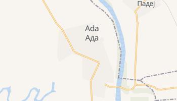 Mapa online de ADA para viajantes
