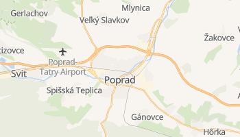 Mapa online de Poprad para viajantes
