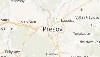 Mapa online de Prešov para viajantes