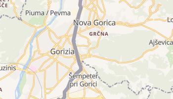 Mapa online de Gorizia para viajantes