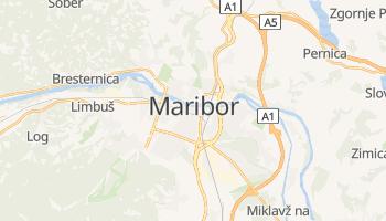 Mapa online de Maribor para viajantes