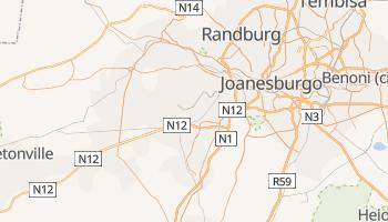 Mapa online de Soweto para viajantes