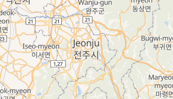 Mapa online de Jeonju para viajantes