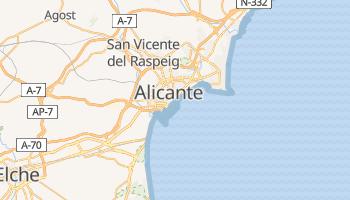 Mapa online de Alicante para viajantes