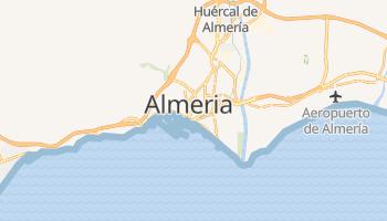 Mapa online de Almeria para viajantes