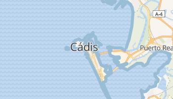 Mapa online de Cádis para viajantes