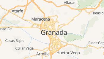 Mapa online de Granada para viajantes