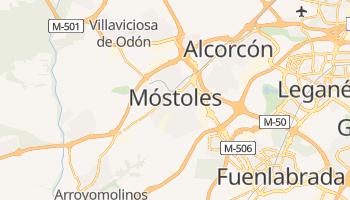 Mapa online de Móstoles para viajantes