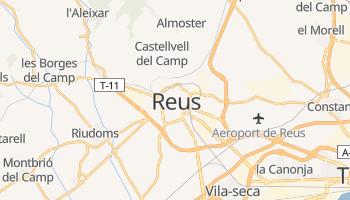 Mapa online de Reus para viajantes
