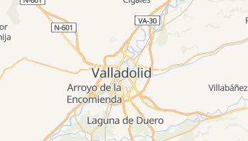 Mapa online de Valhadolide para viajantes