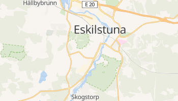 Mapa online de Eskilstuna para viajantes