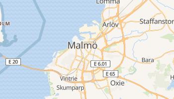 Mapa online de Malmö para viajantes