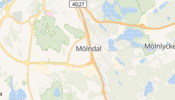 Mapa online de Mölndal para viajantes