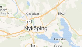 Mapa online de Nyköping para viajantes