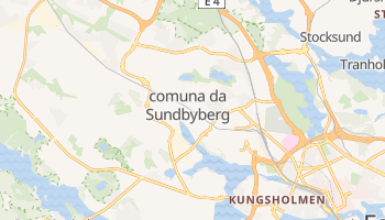 Mapa online de Sundbyberg para viajantes
