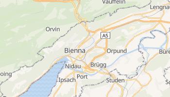 Mapa online de Bienna para viajantes