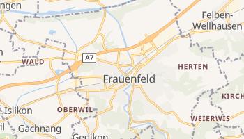 Mapa online de Frauenfeld para viajantes