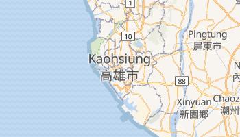 Mapa online de Kaohsiung para viajantes