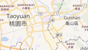 Mapa online de Taoyuan para viajantes
